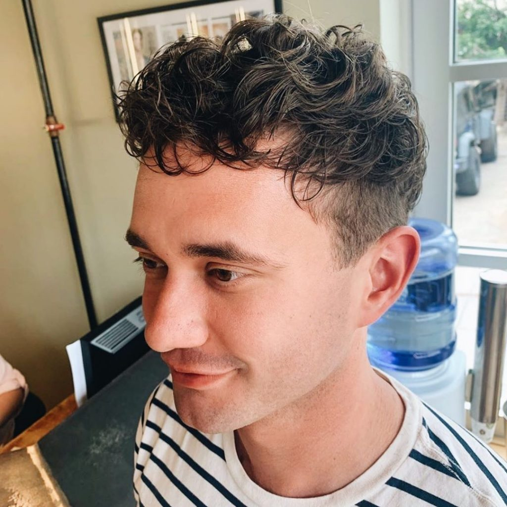 modern haircuts for curly hair men