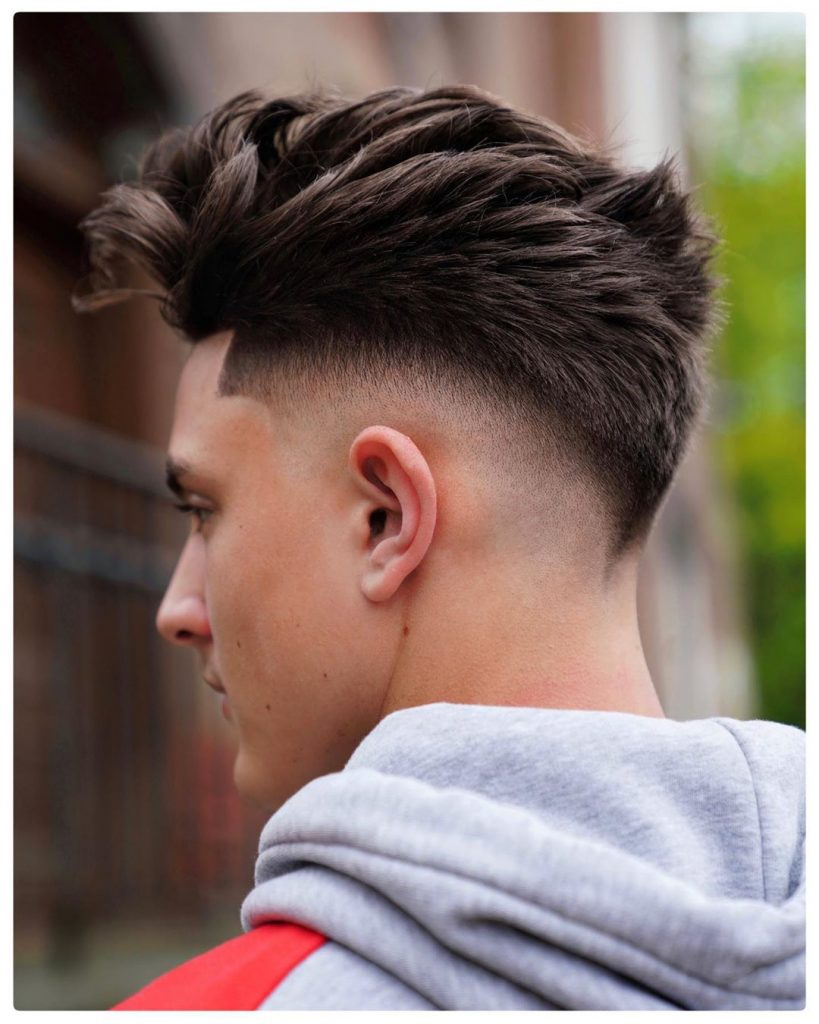 modern spiky hairstyles for men