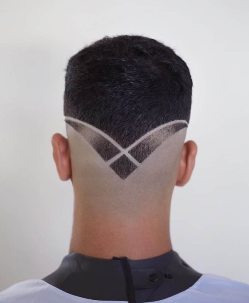 line hair design