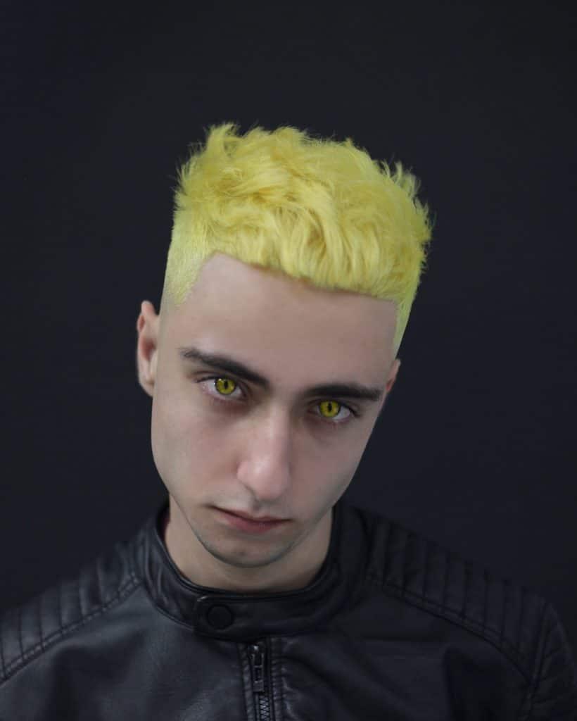 neon hair for men