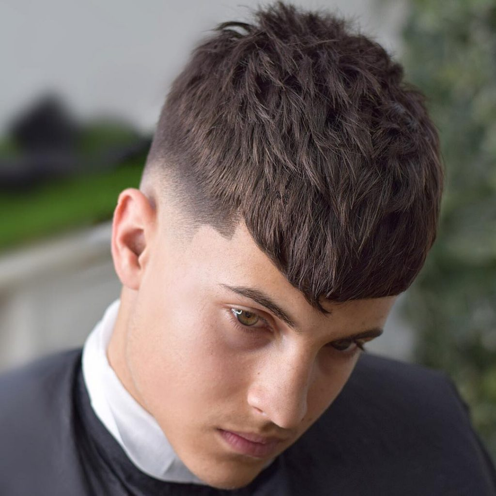 fringe haircuts for men