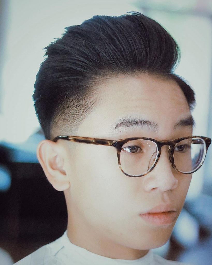 cool haircuts for asian men
