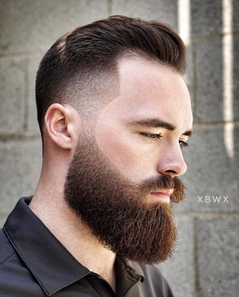 beard temp fade