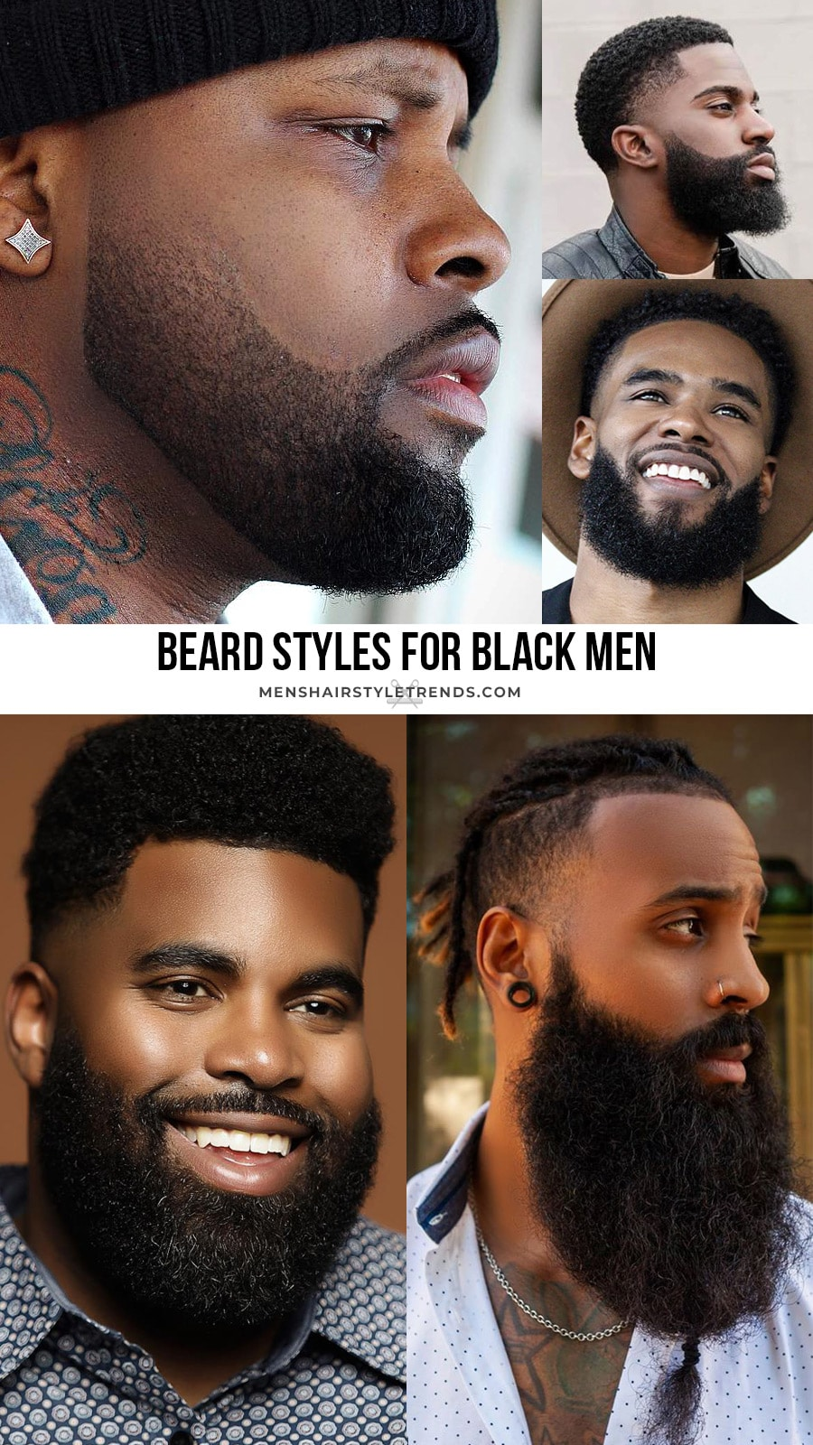 Beard styles for Black men