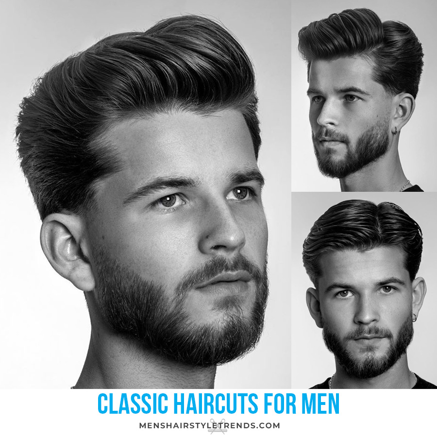classic haircut styles for men