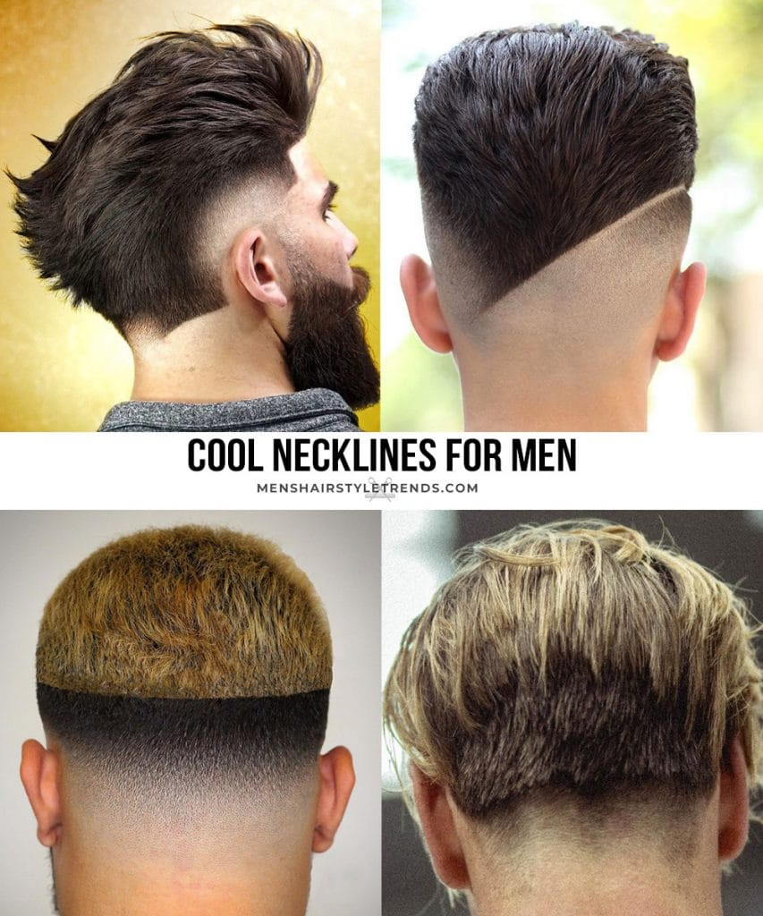 cool neckline haircuts for men