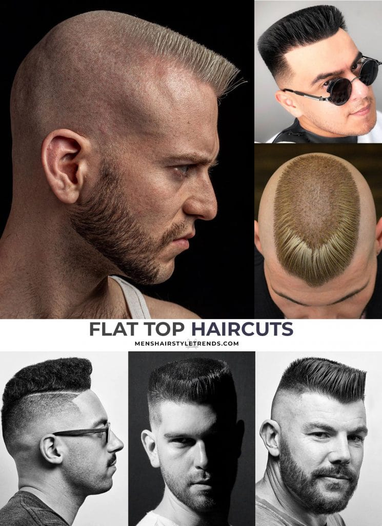 flat top haircuts for white guys