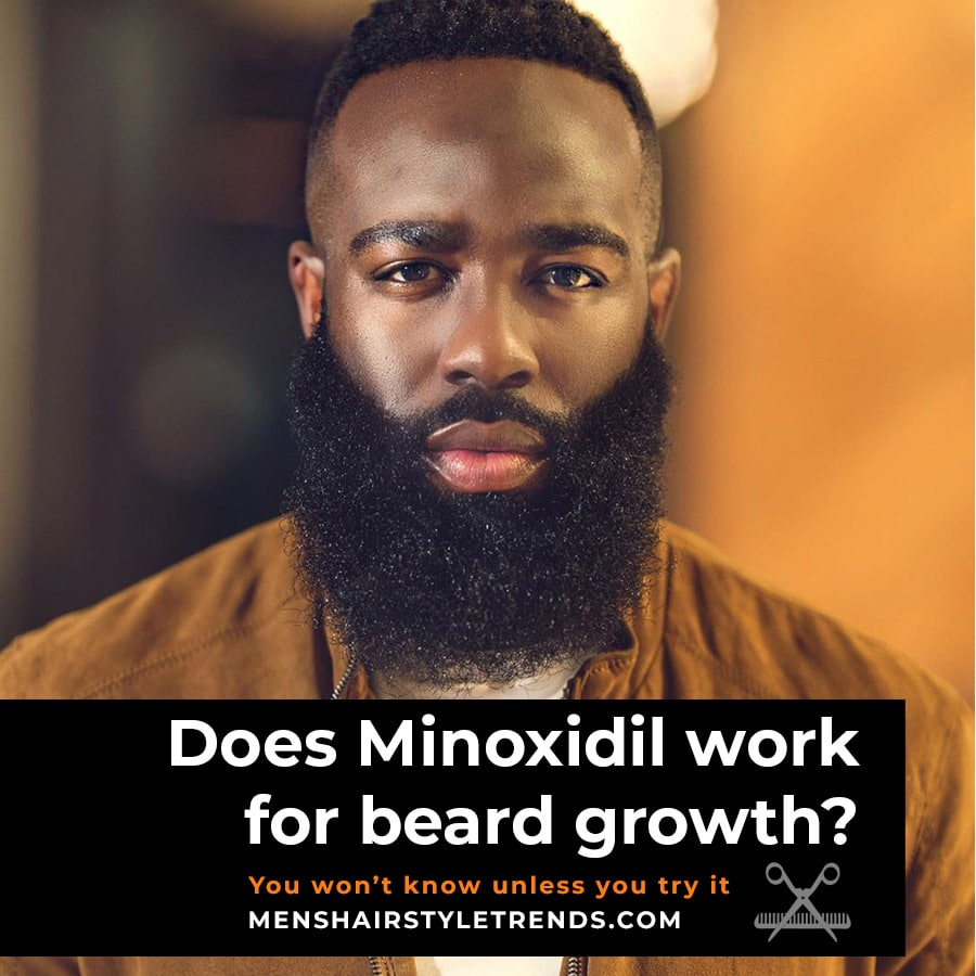 Does minoxidil work for beard growth - minox beard