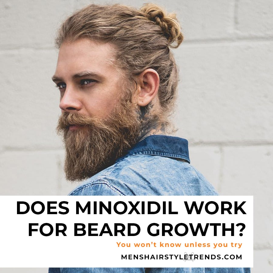 using minoxidil for beard growth