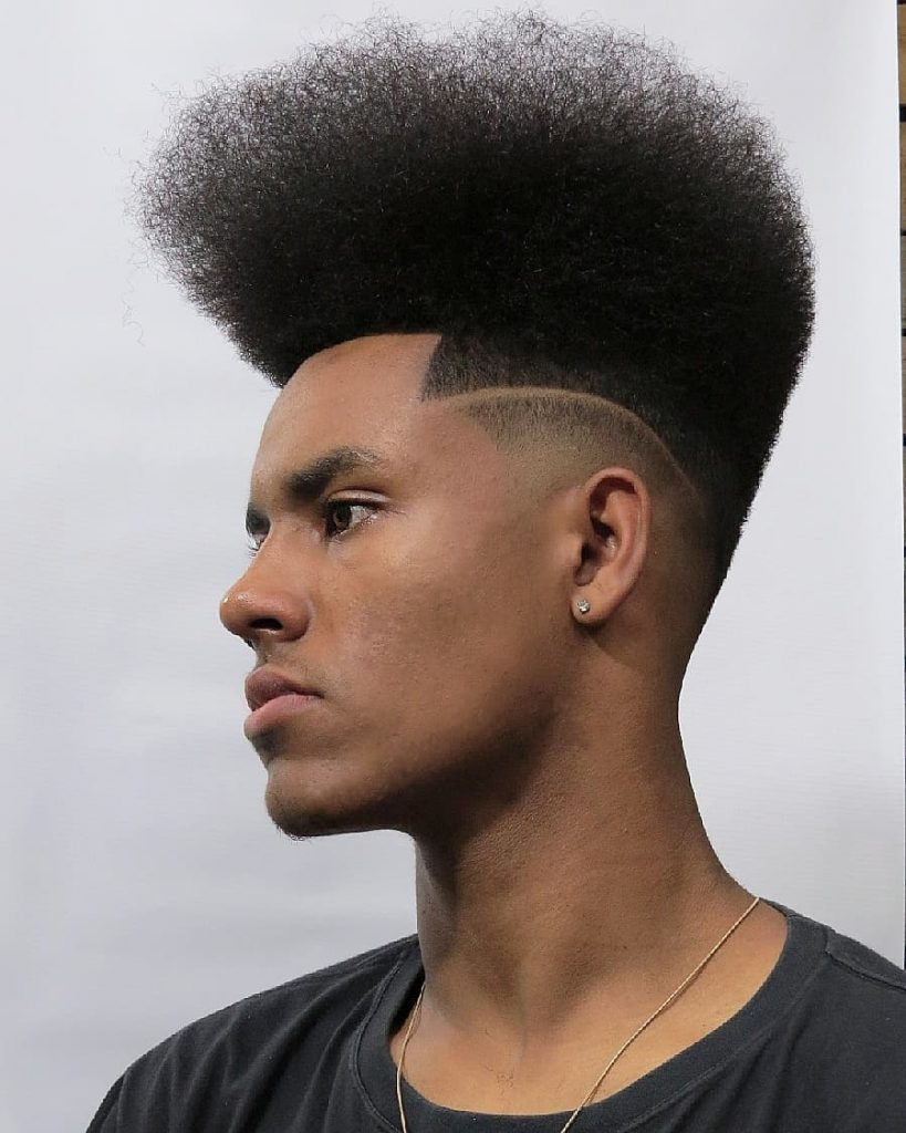 Super Tall High Top Fade Haircut