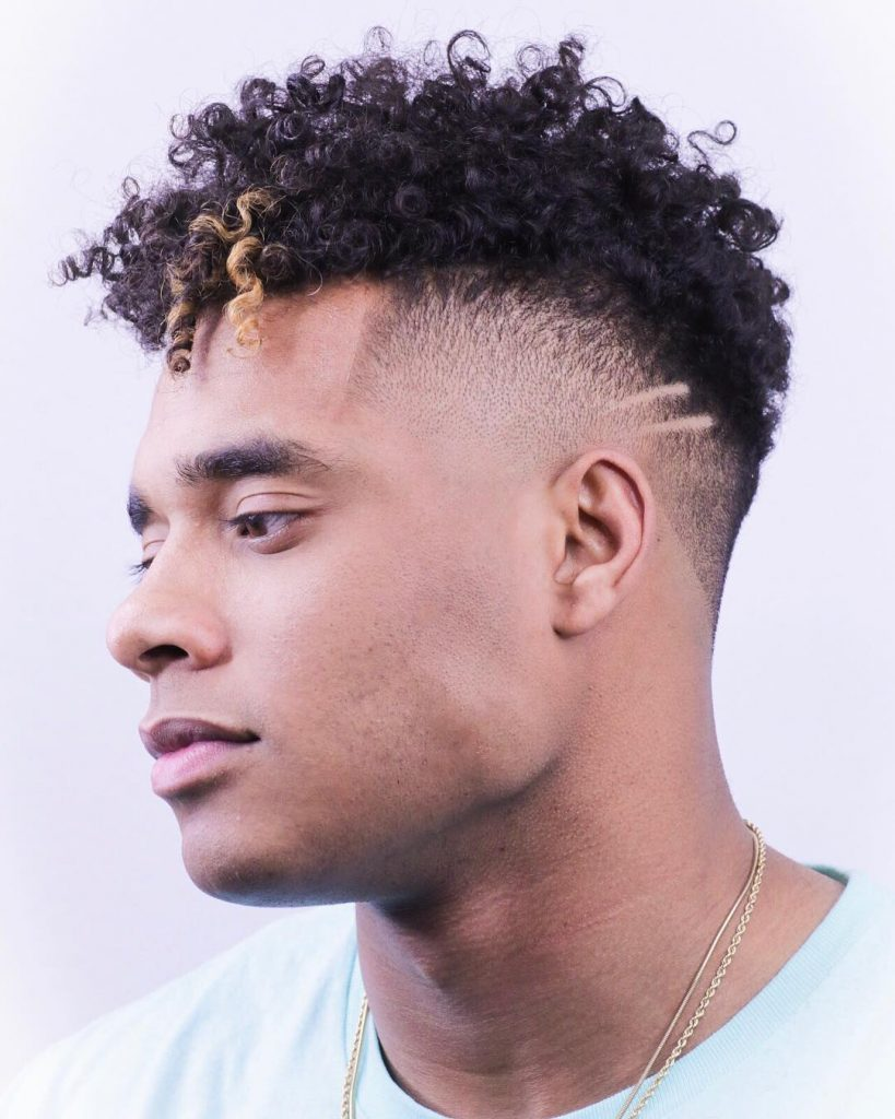 fringe haircuts for curly hair men