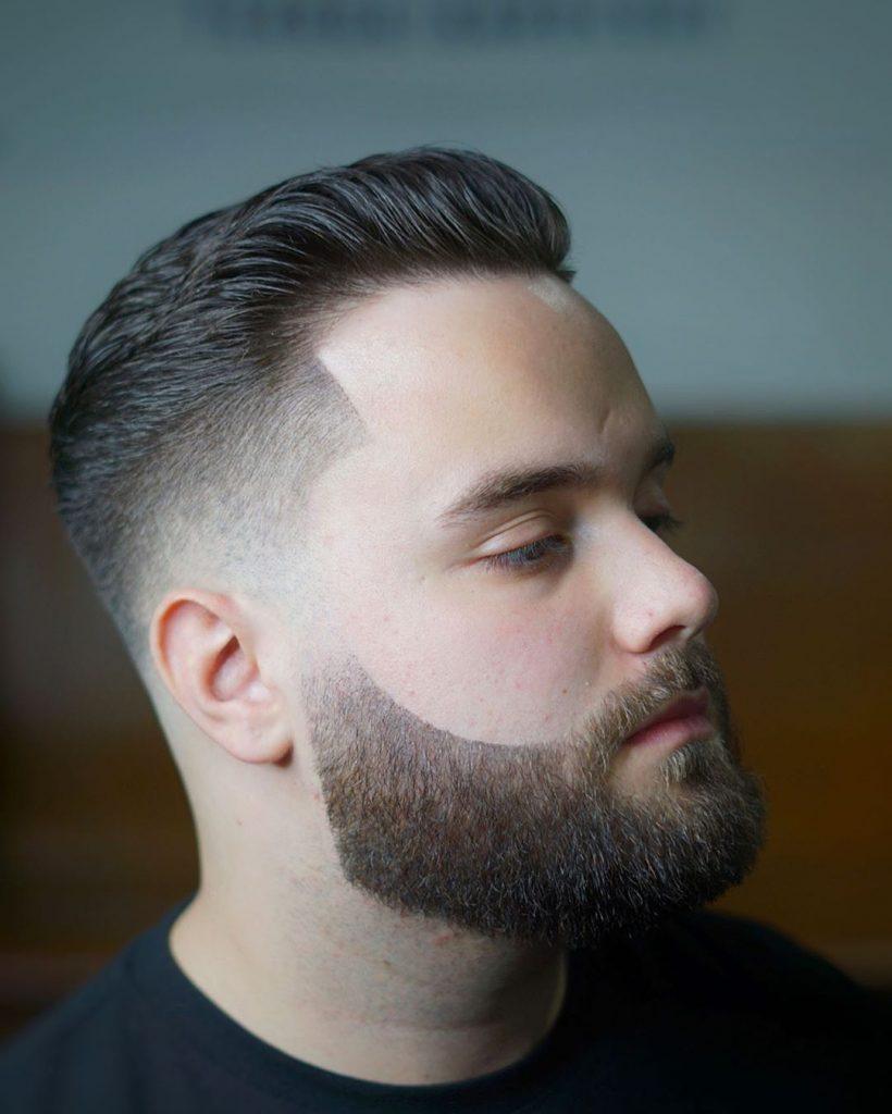 Classic short haircut for men