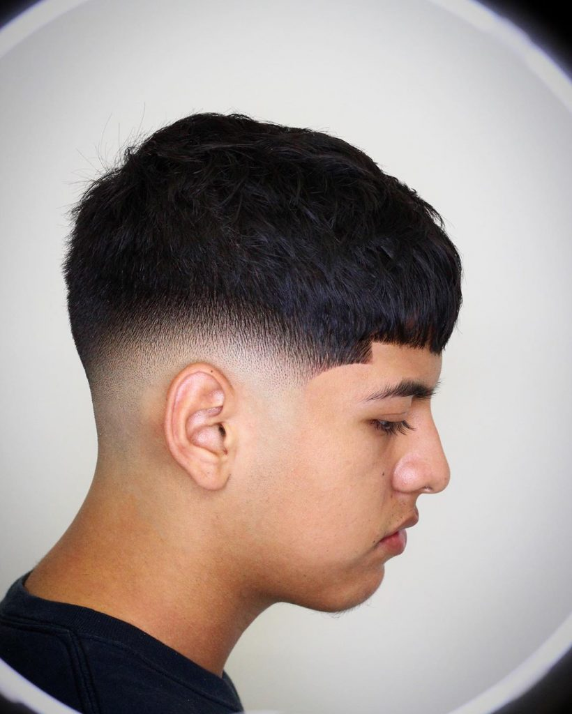 Short Textured Hairstyle For Men