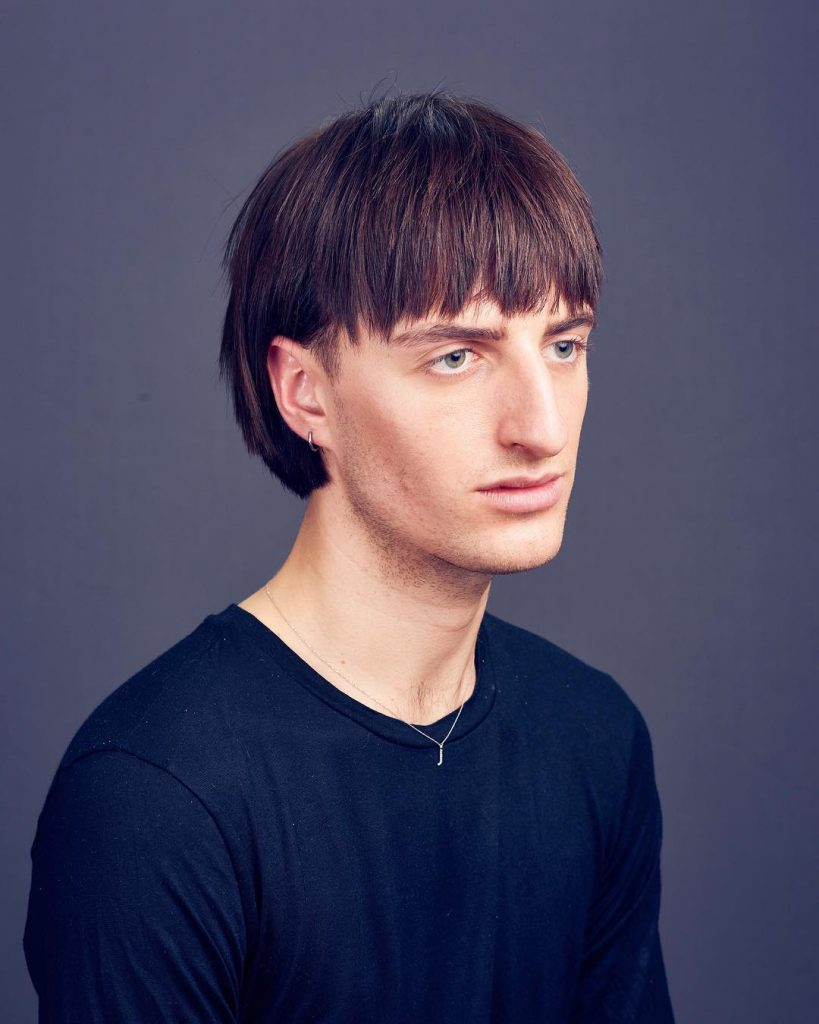 mod fringe haircuts for men