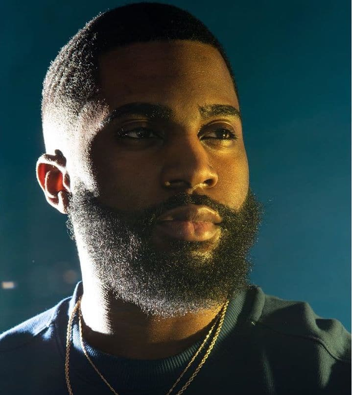 full beard for black men