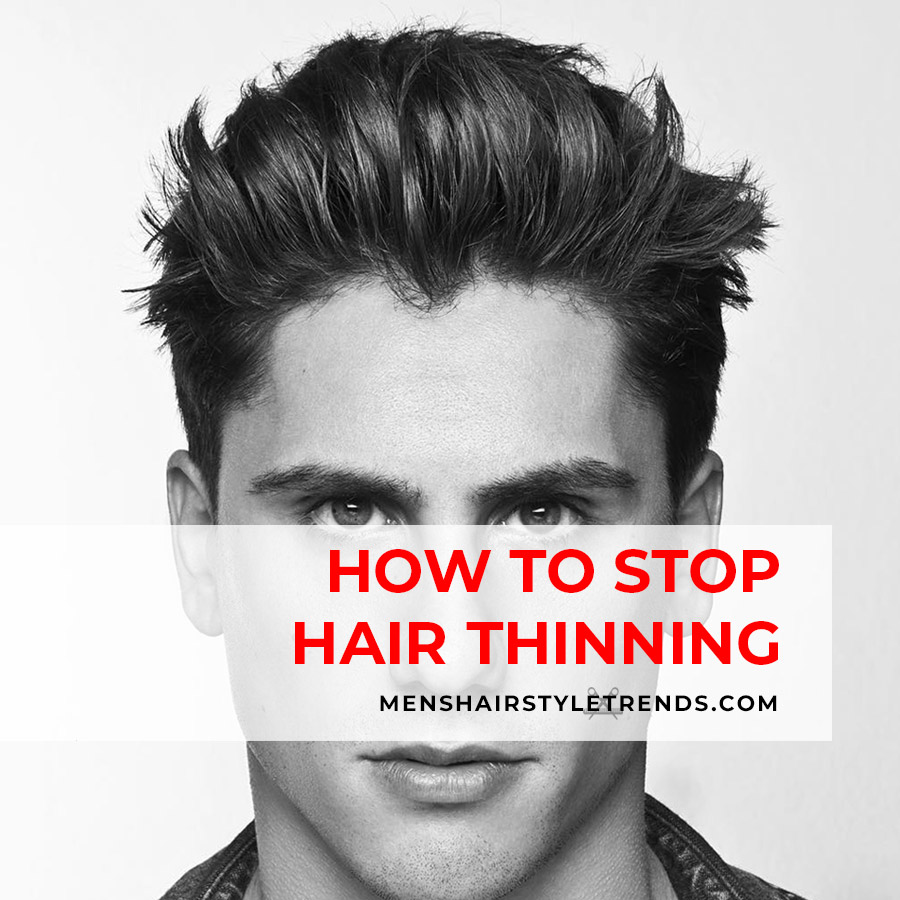 how to stop hair thinning men