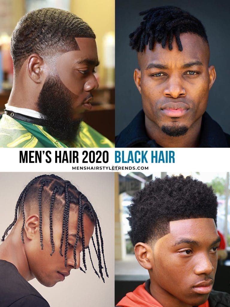 hairstyles for black men 2020