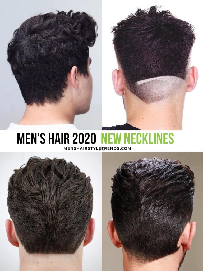 men's hair trends 2020 necklines