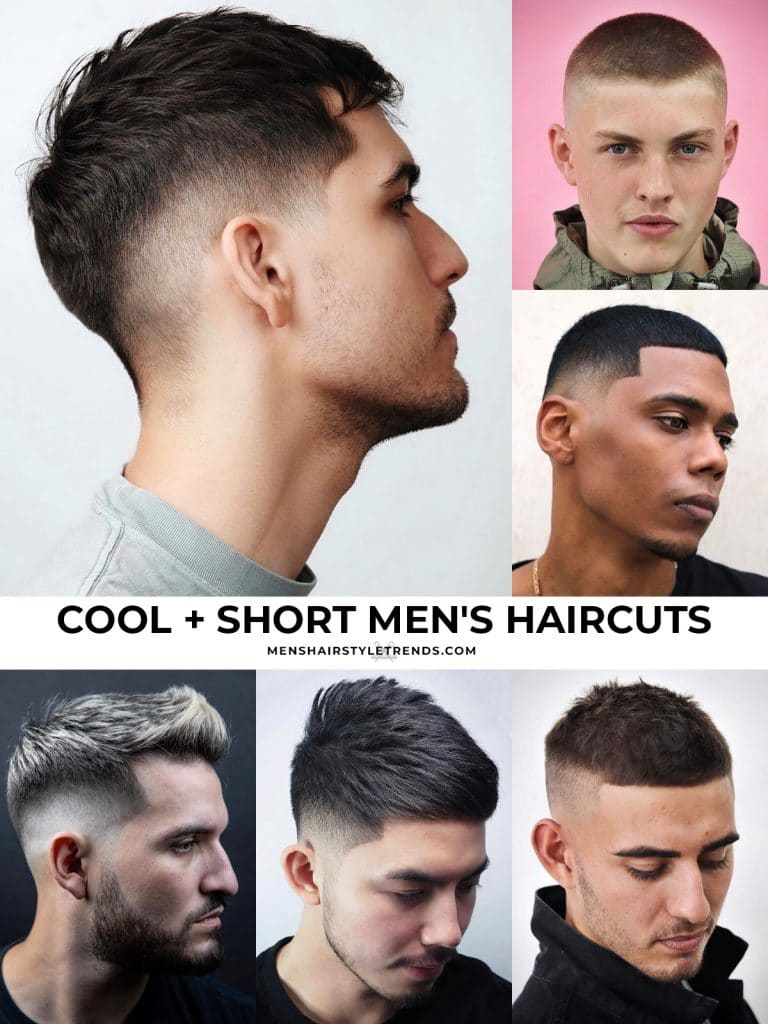 cool men's haircuts for short hair
