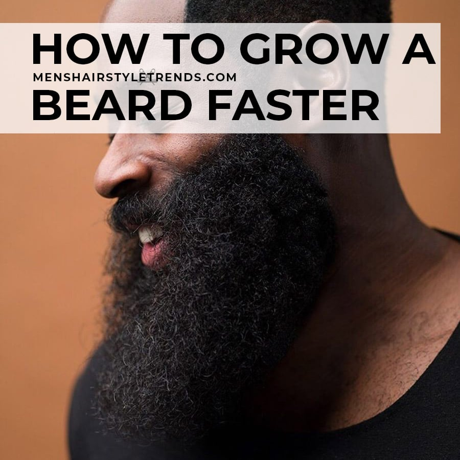 How to grow a beard faster