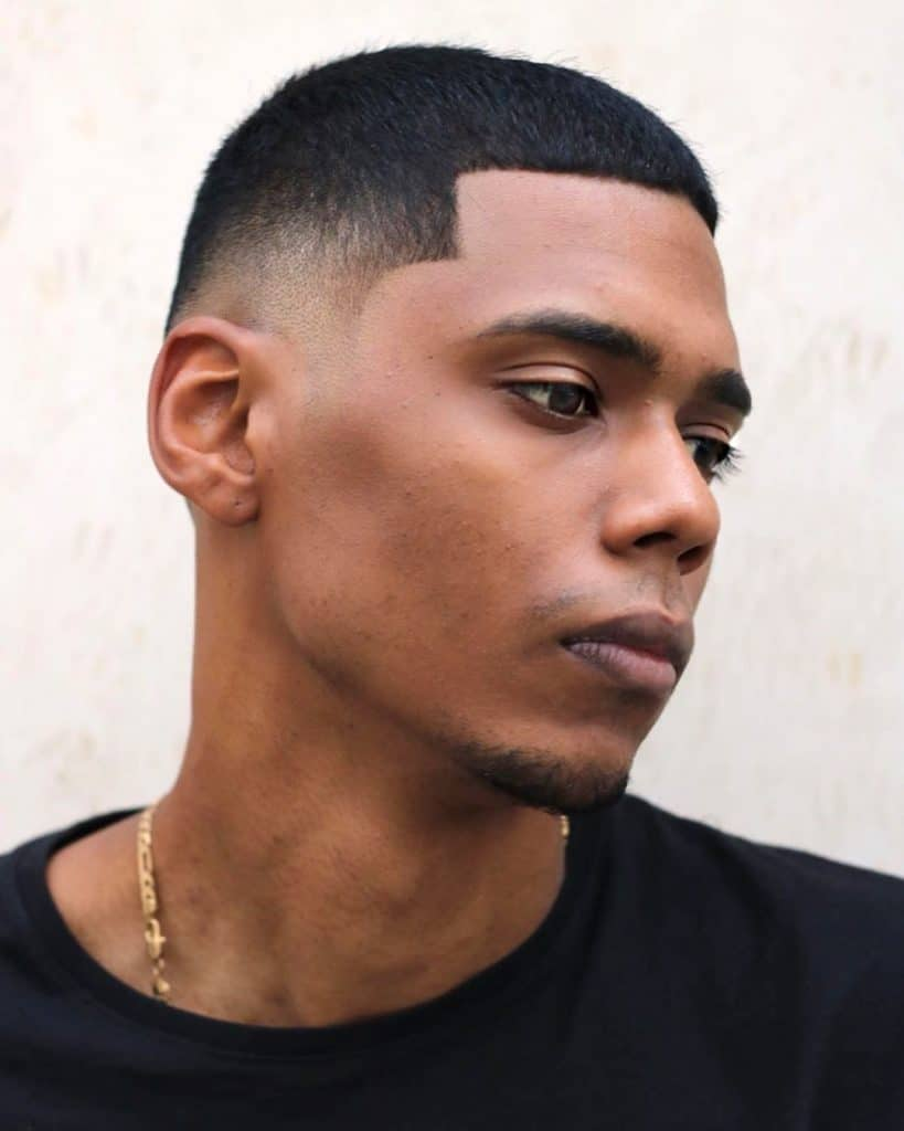 cool line up haircut for men