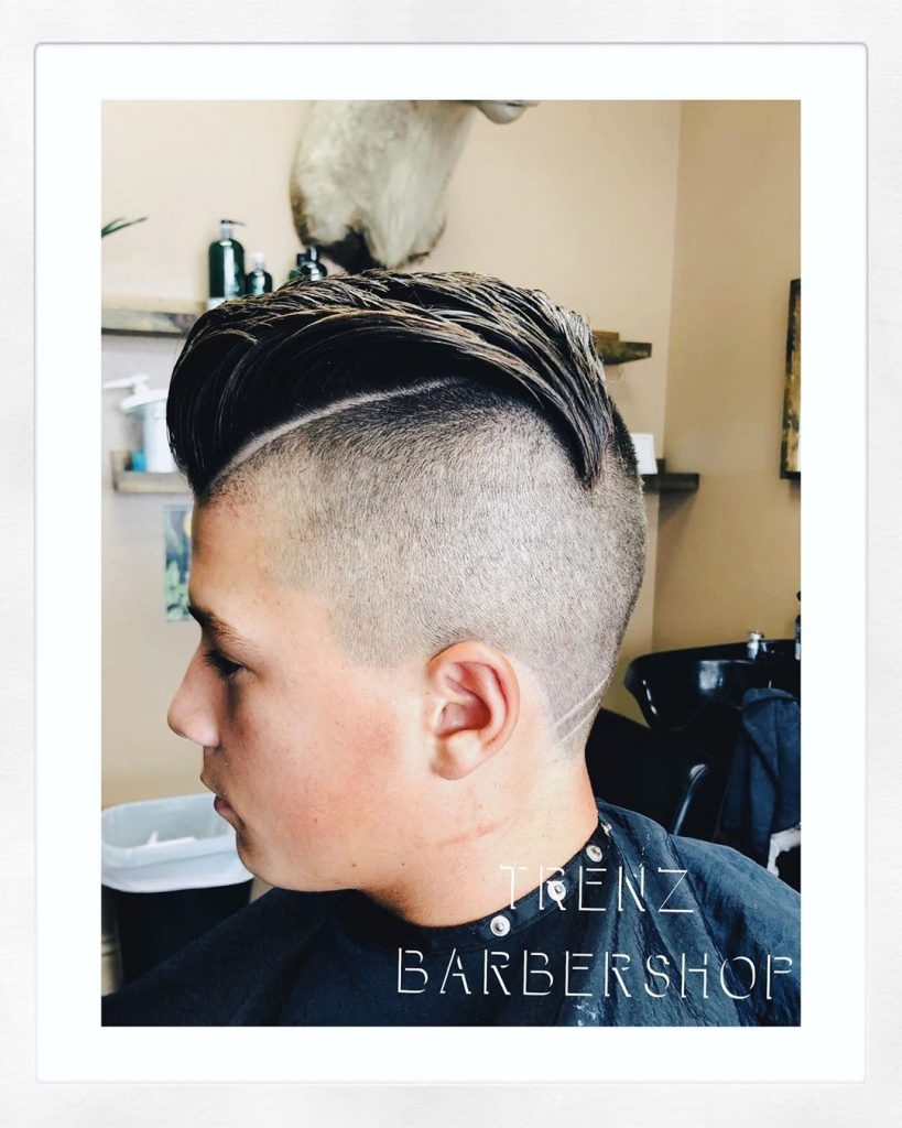 undercut mohawk men
