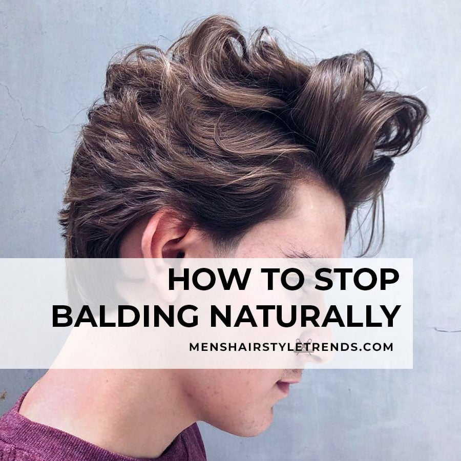 how to stop balding naturally