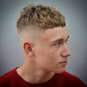7 Curly Hair Fade Haircuts
