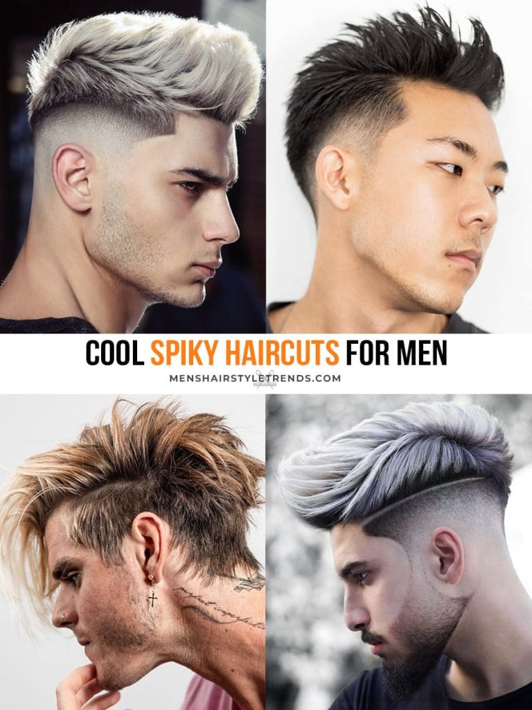 spiky haircuts that look cool