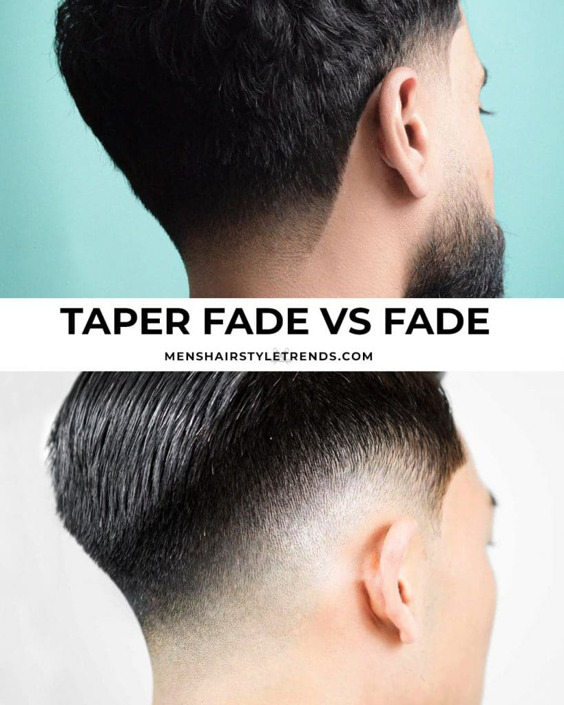 Taper vs Fade Haircut