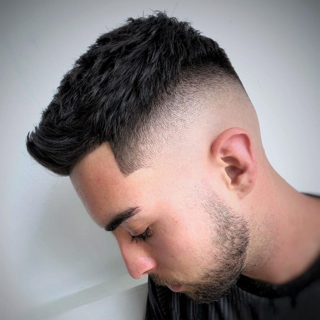 Textured Fade Haircut