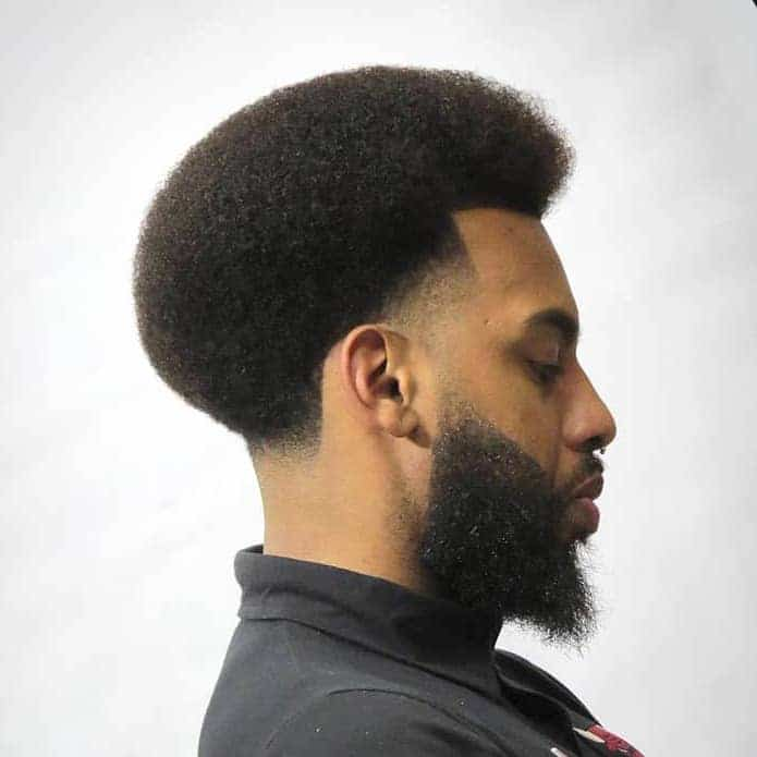 Afro taper fade