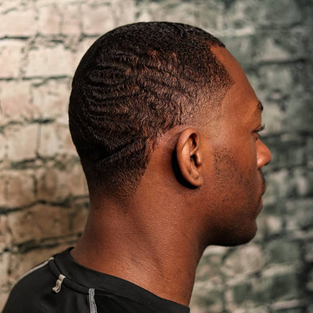 Fade with 360 waves
