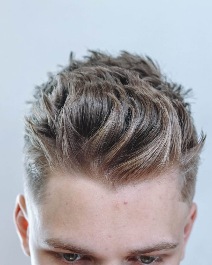 17 New Textured Haircuts For Men 2020