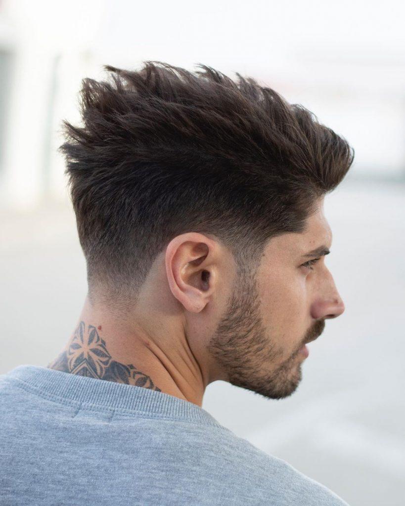 textured haircut for straight hair