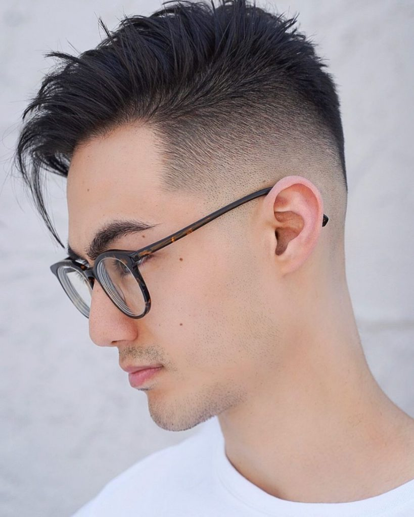 asian men haircut