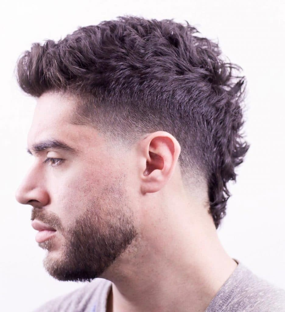 taper fade mohawk haircut