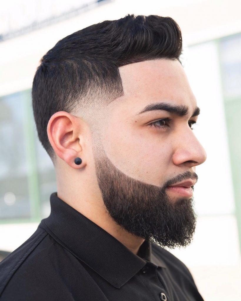 short quiff haircut for men