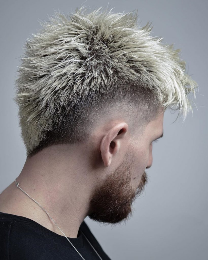fade mohawk haircut pictures