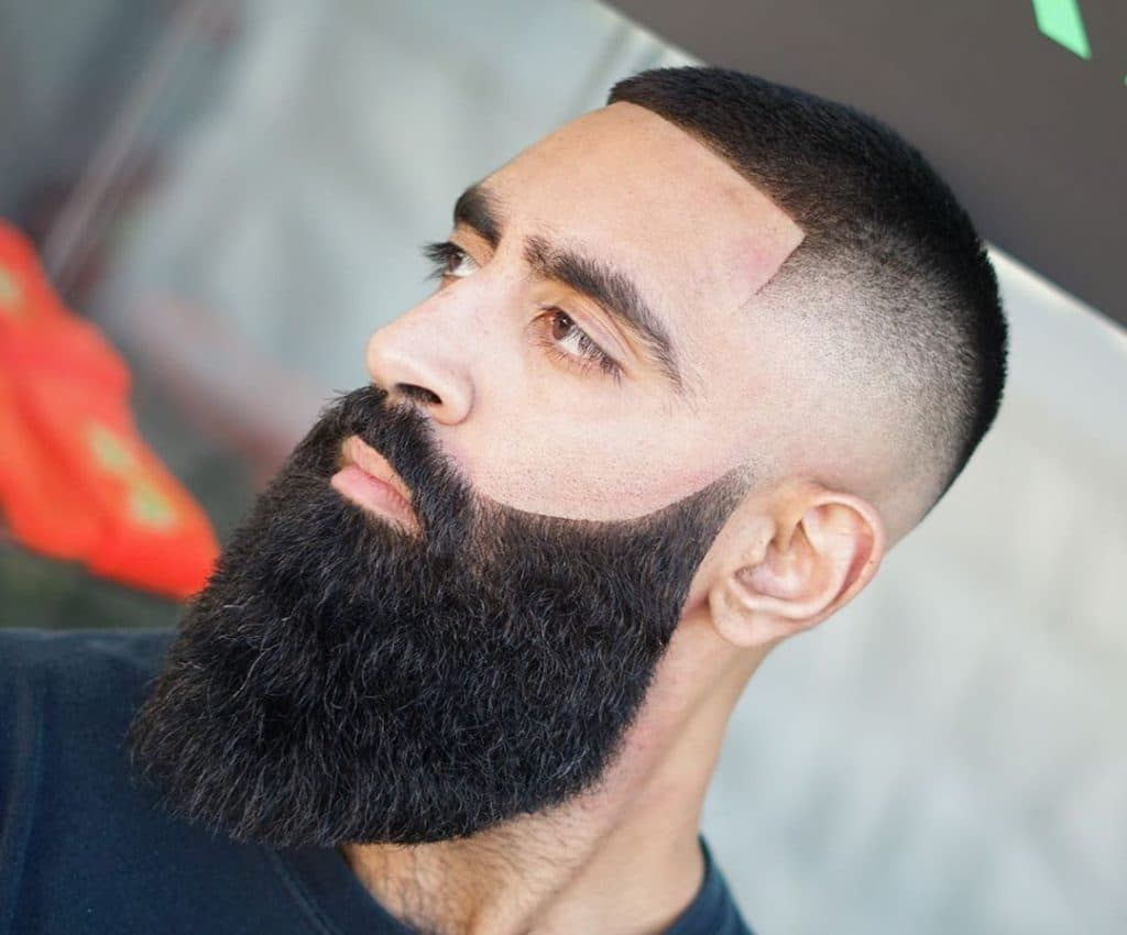 fade shape up haircut