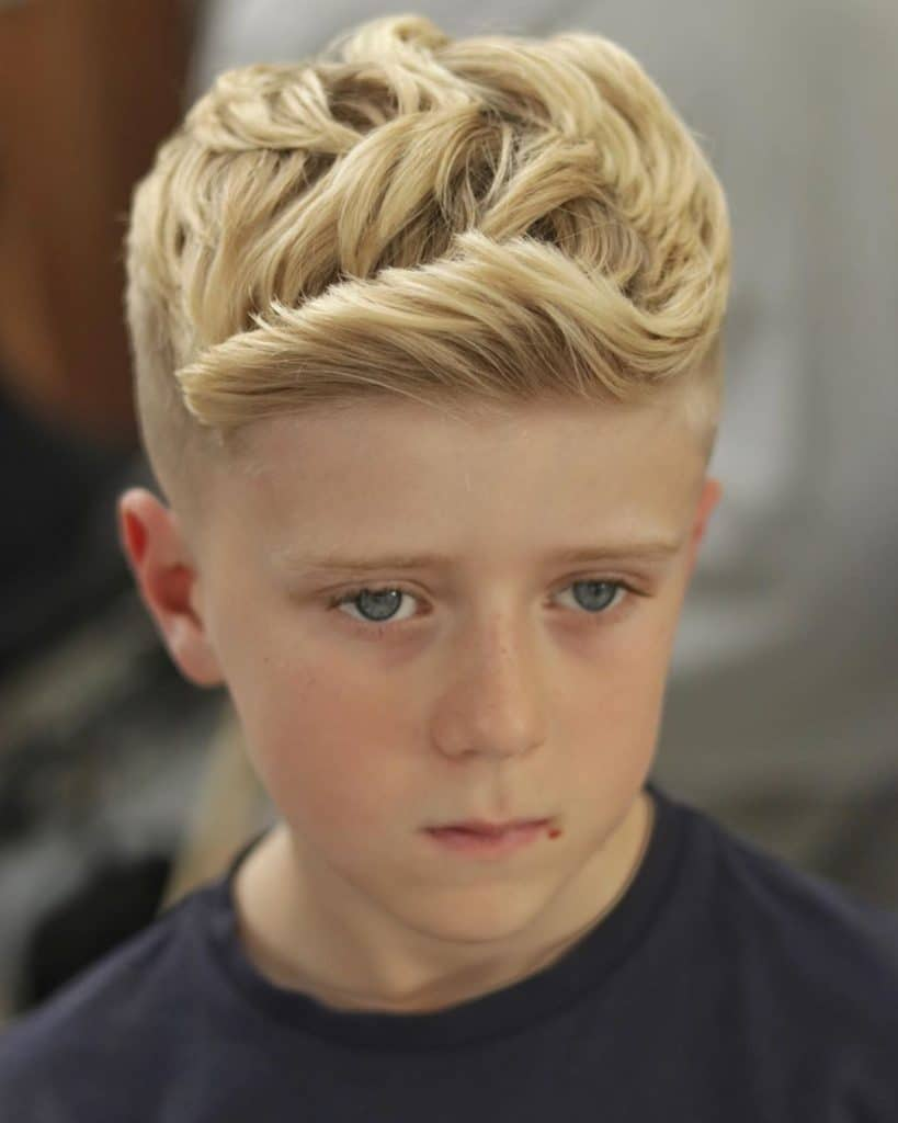 Good haircut for boys with thick hair