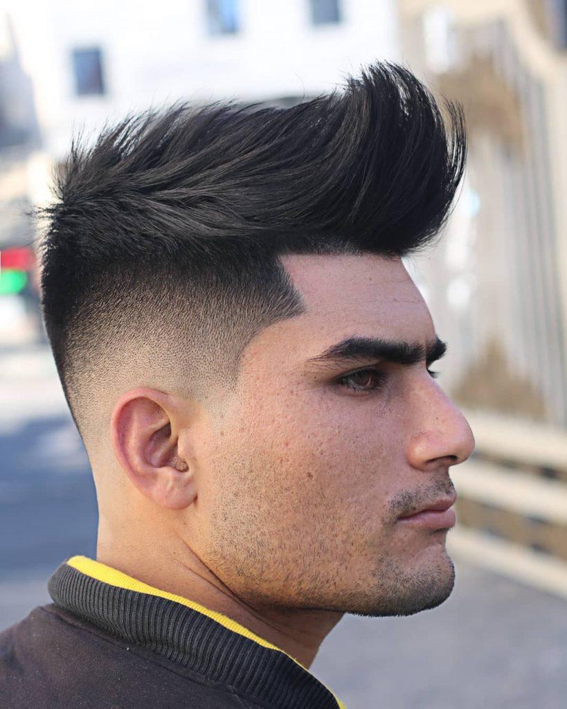 undercut quiff haircut
