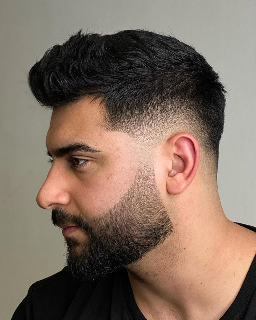 Mid Low Fade