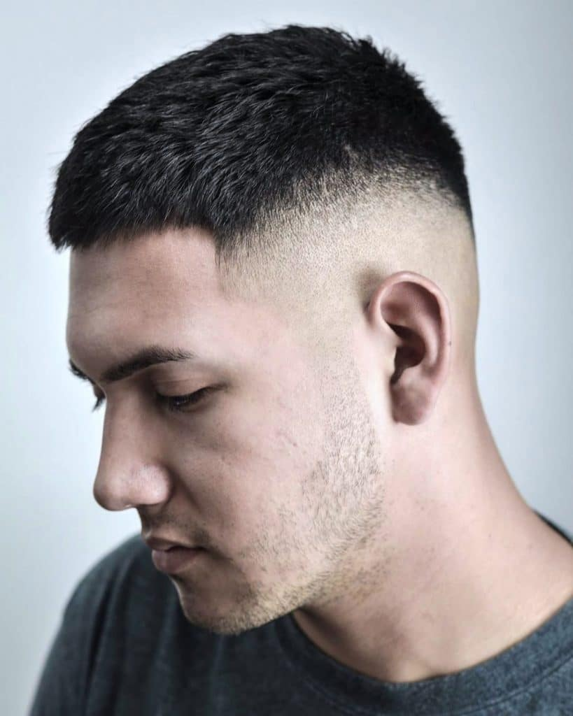 mens short fade haircut