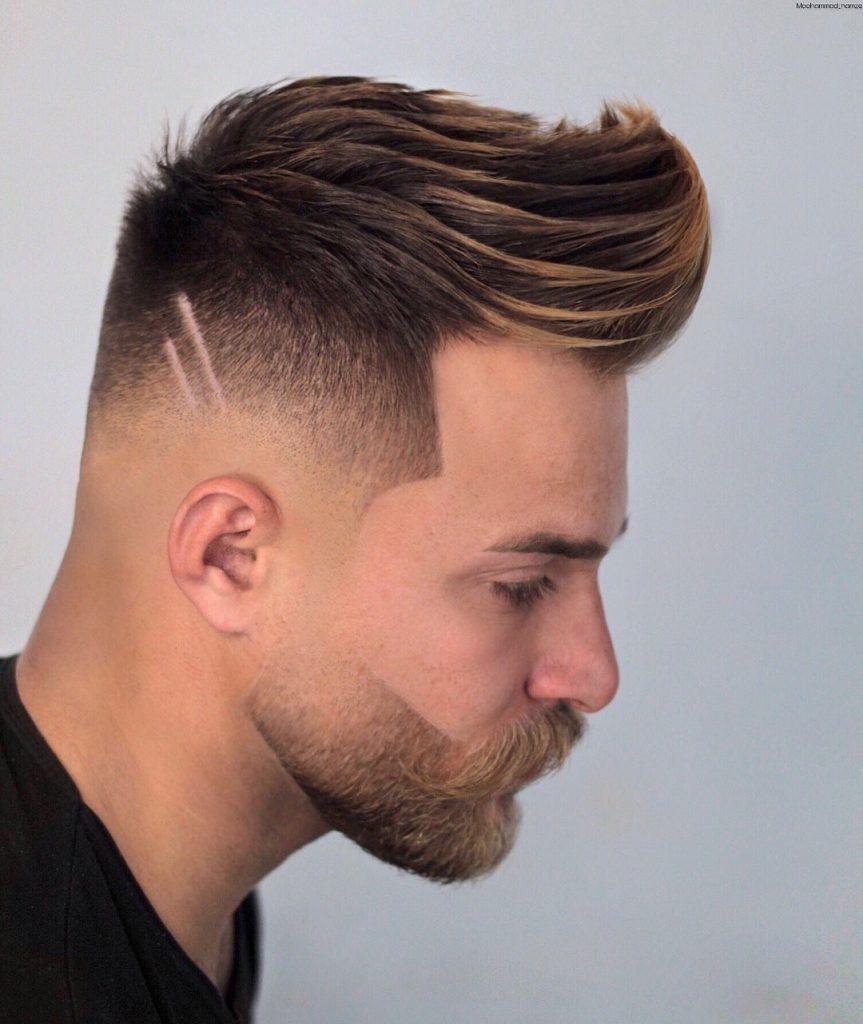 modern quiff haircut