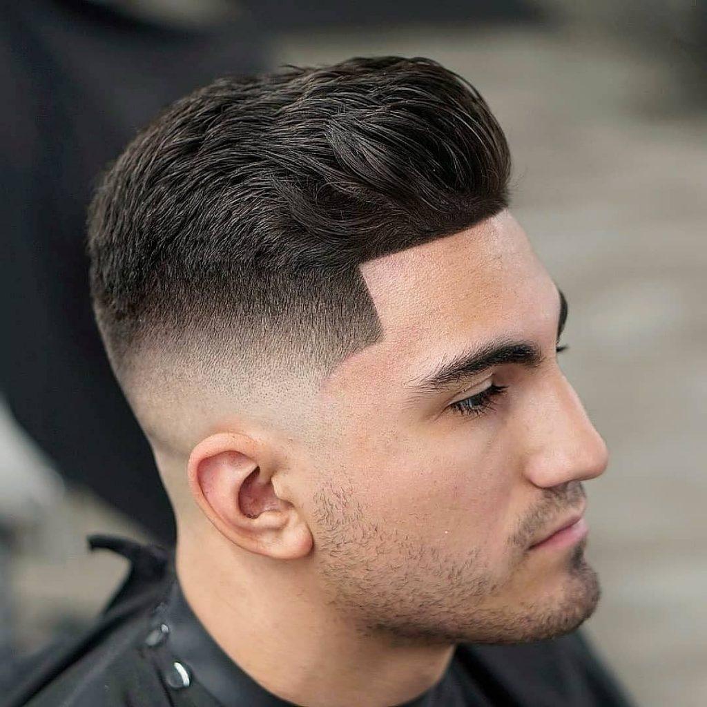 nice shape up haircut
