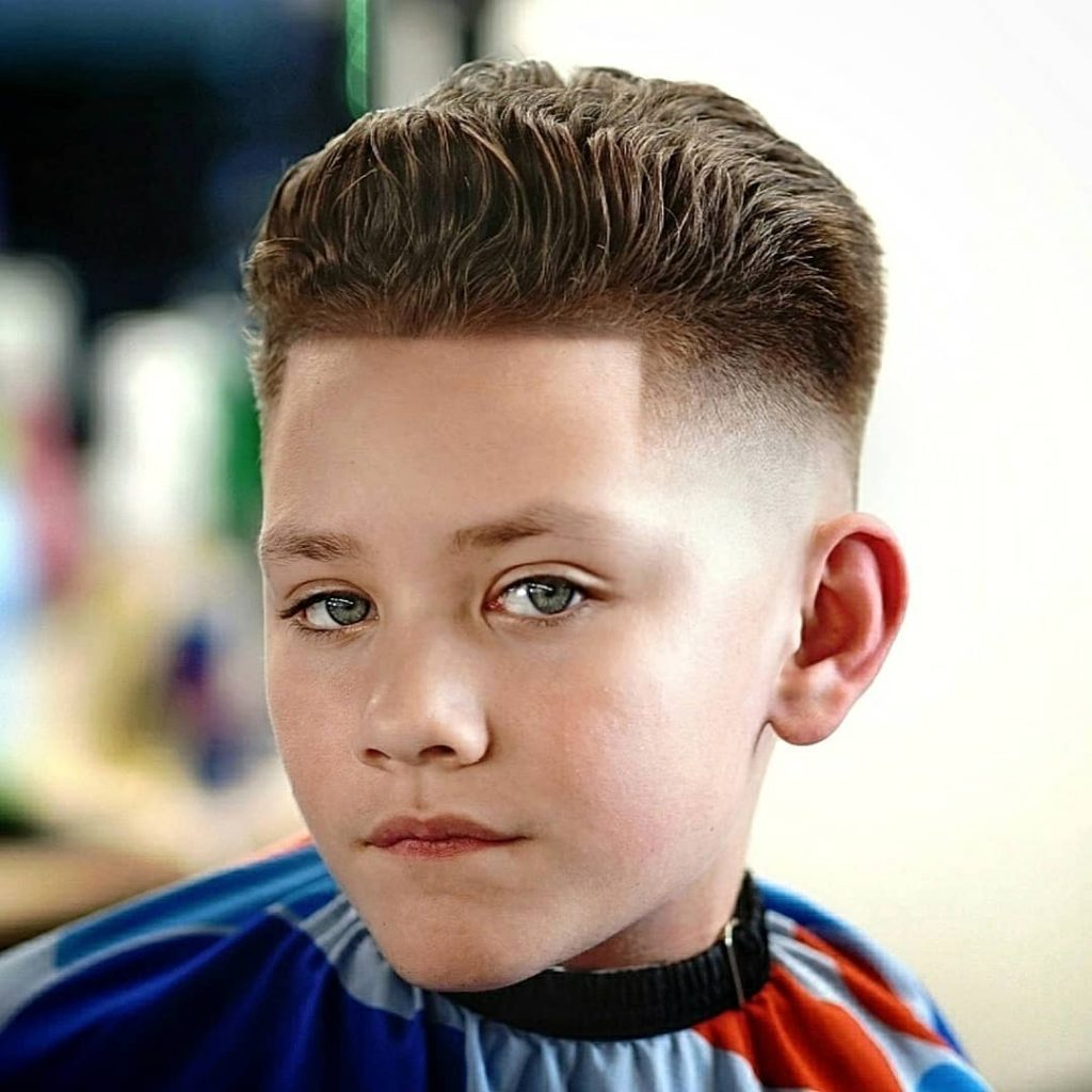 Kids fade haircut for boys