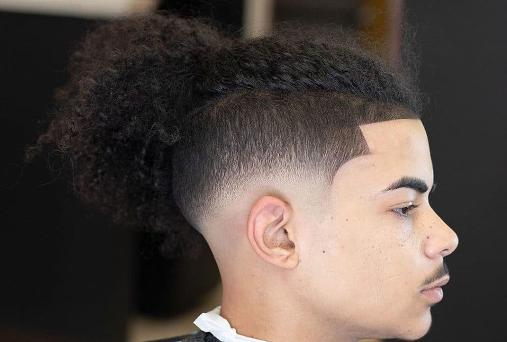 shape up haircut long hair