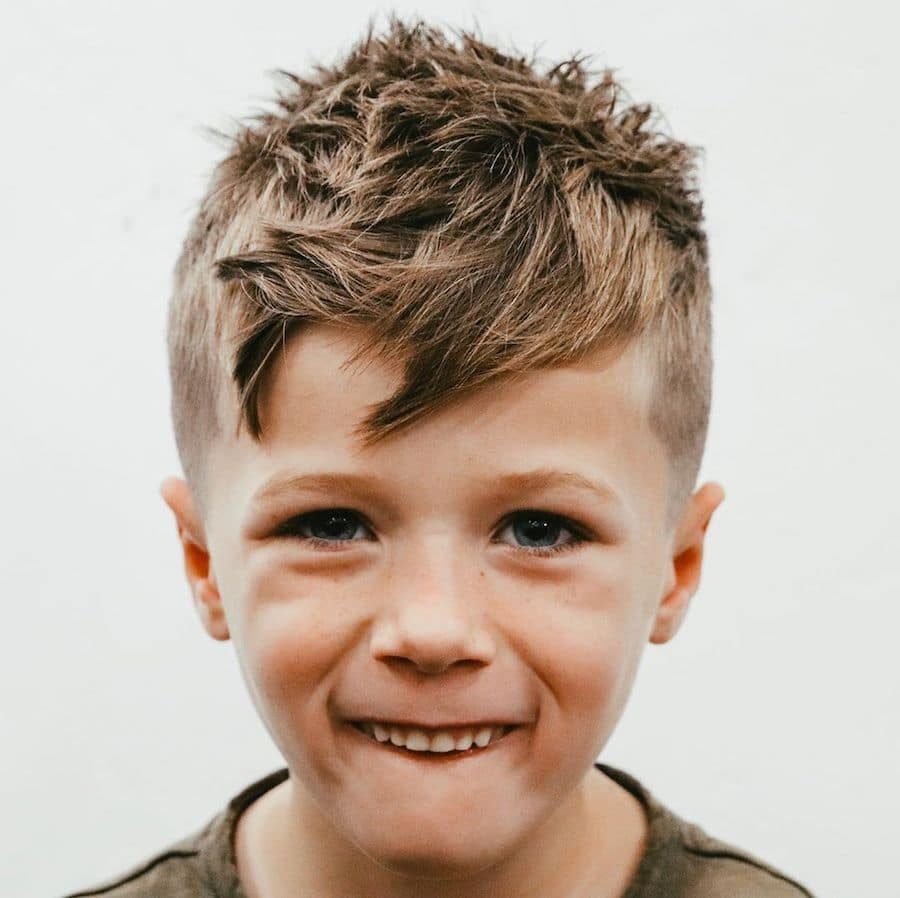 Cool hairstyles for boys with spiky textures