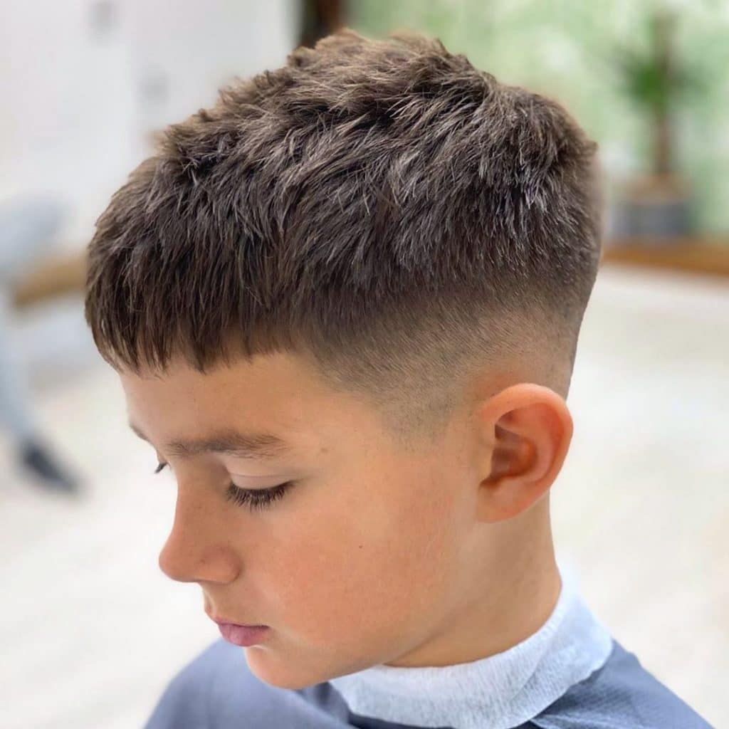 55 Boy S Haircuts From Short To Long Cool Fade Styles